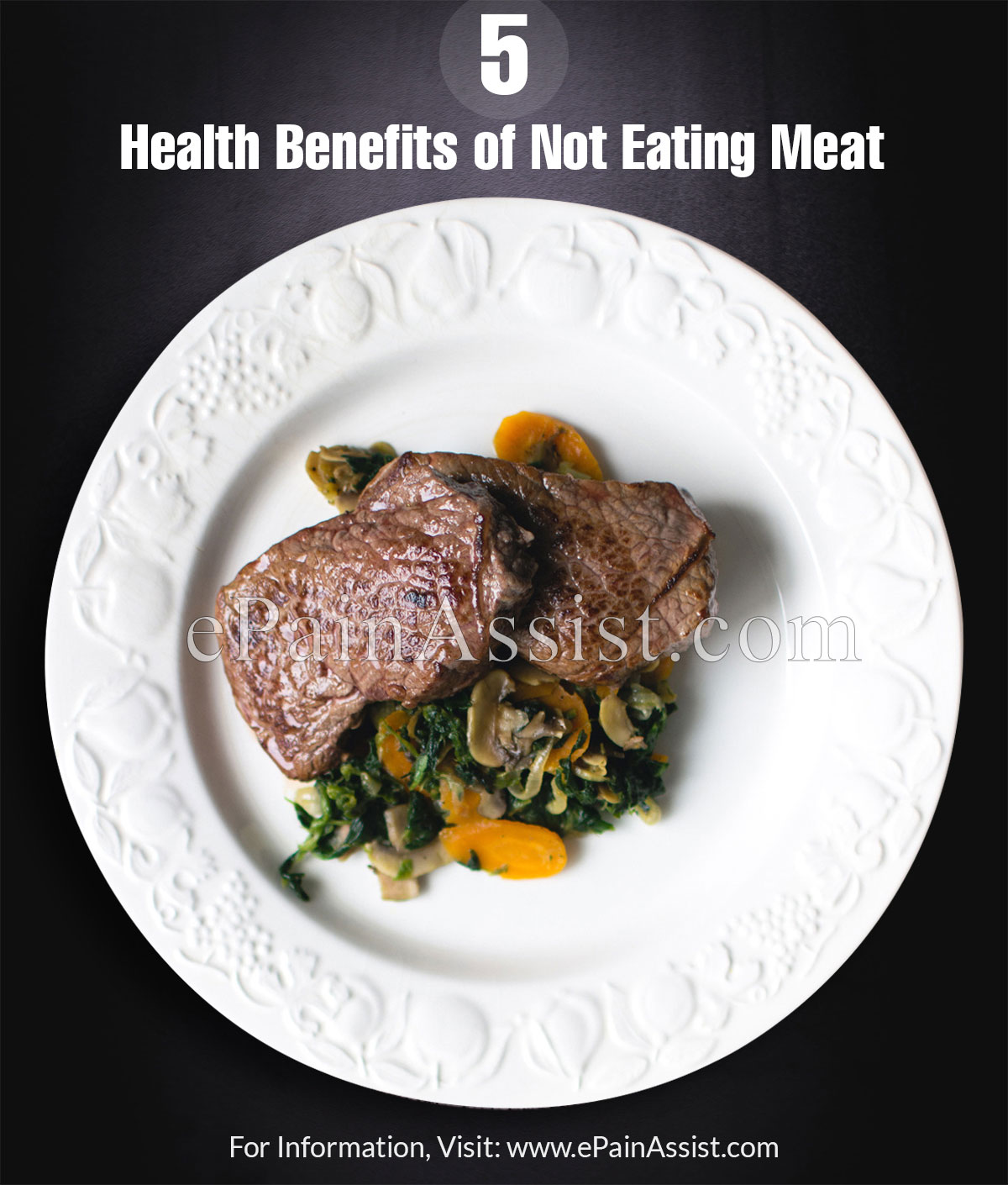 5 Health Benefits of Not Eating Meat