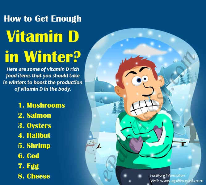 How to Get Enough Vitamin D in Winter?