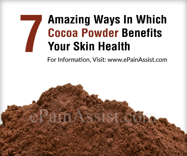 7 Amazing Ways In Which Cocoa Powder Benefits Your Skin Health