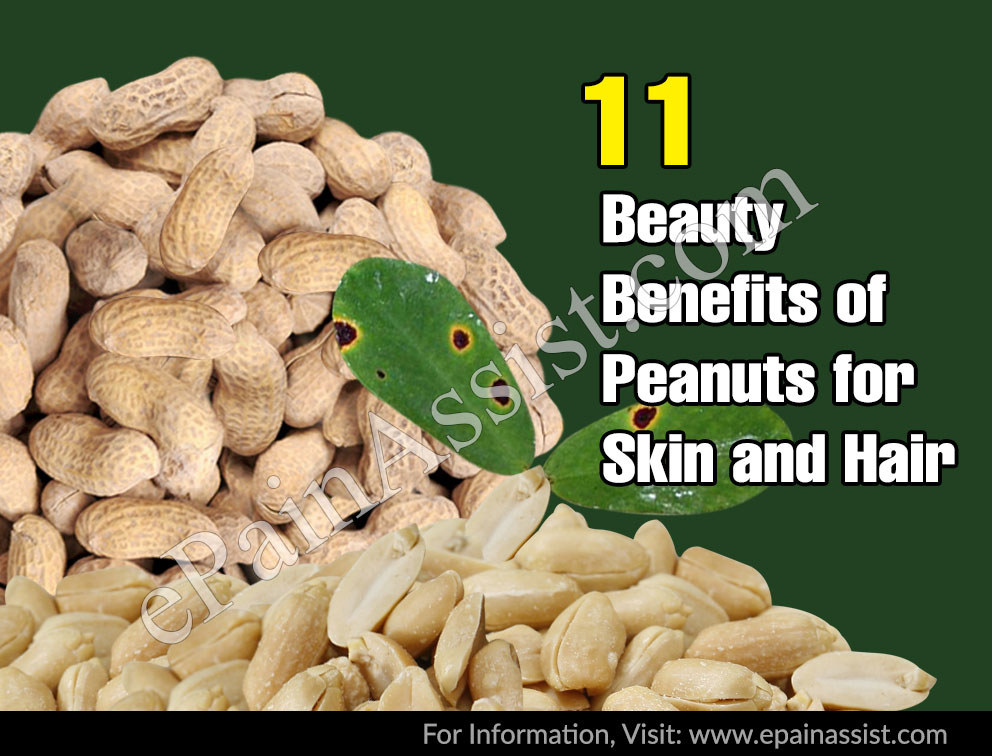 11 Beauty Benefits of Peanuts or Moongphali for Skin and Hair