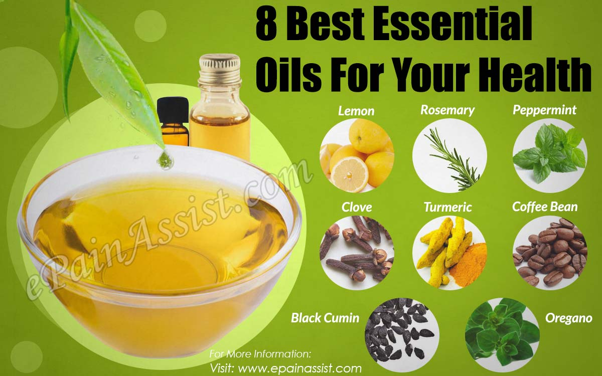 8 Best Essential Oils For Your Health