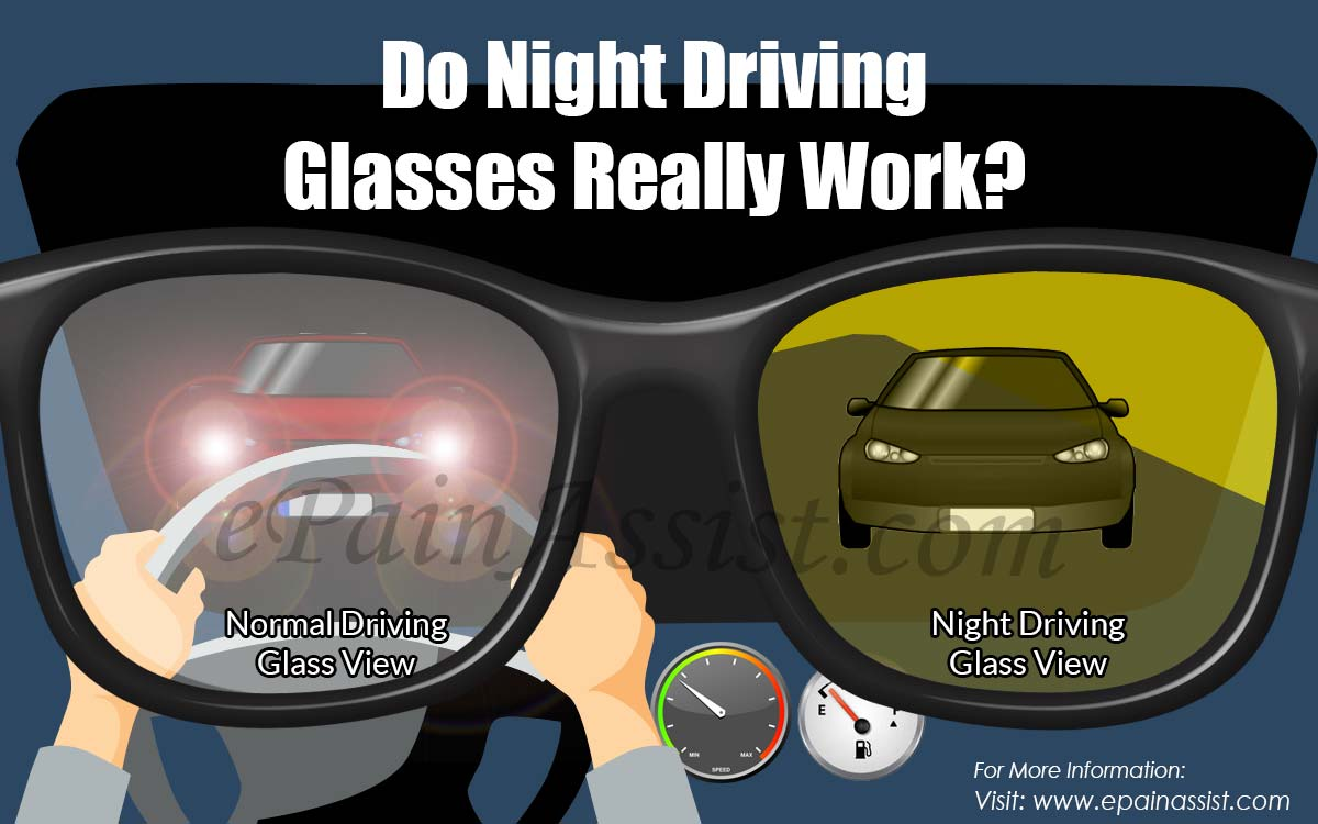 Do Night Driving Glasses Really Work?