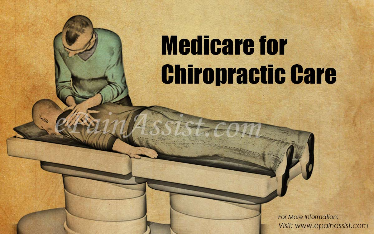 Medicare for Chiropractic Care