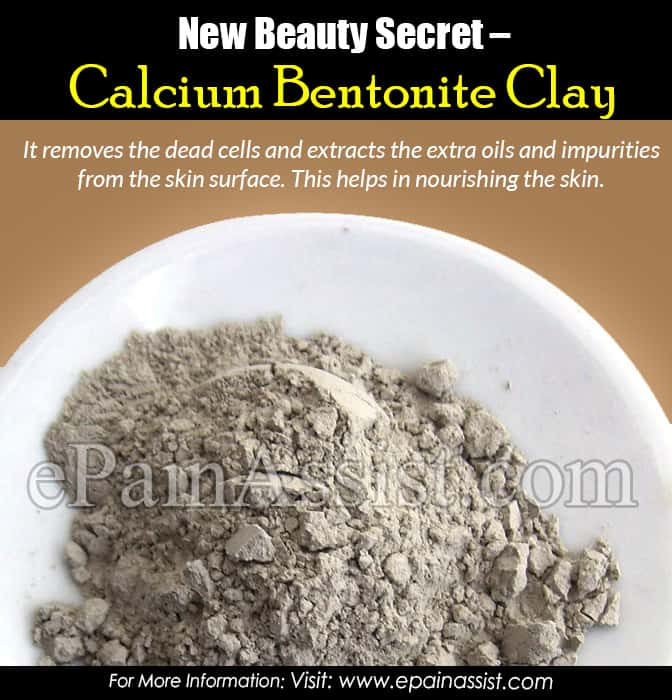 New Beauty Secret – Calcium Bentonite Clay