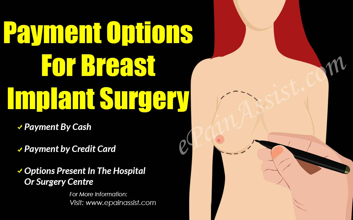 Payment Options For Breast Implant Surgery
