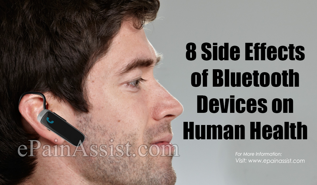 8 Side Effects of Bluetooth Devices on Human Health
