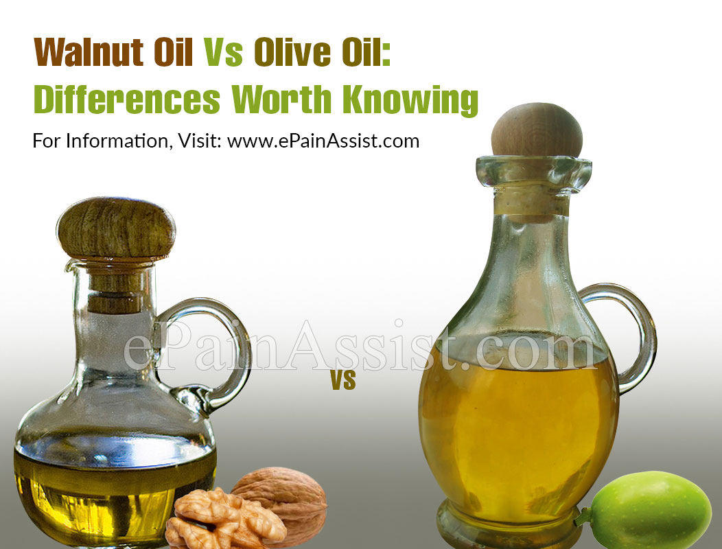Walnut Oil Vs Olive Oil: Differences Worth Knowing