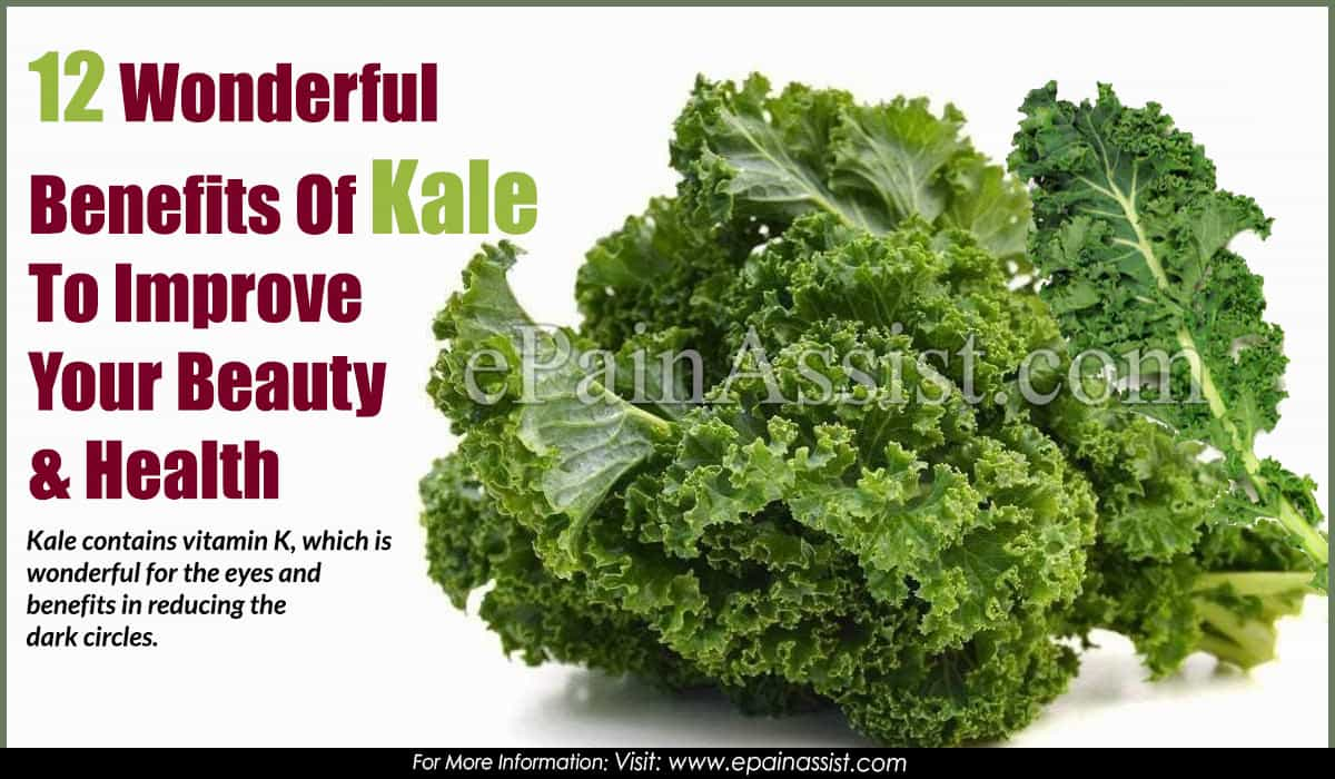 Wonderful Health Benefits of Kale