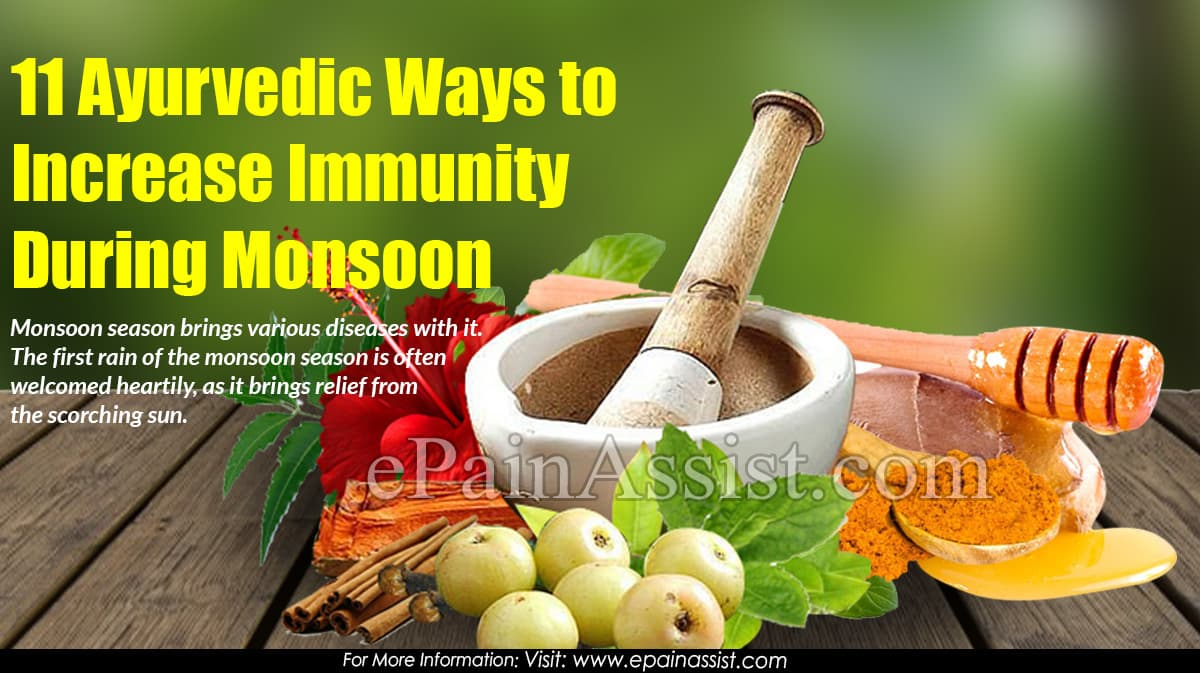 11 Ayurvedic Ways to Increase Immunity During Monsoon