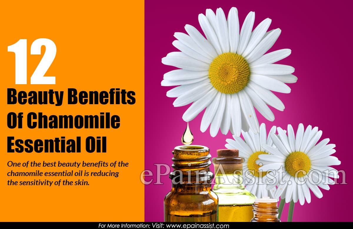 12 Beauty Benefits Of Chamomile Essential Oil