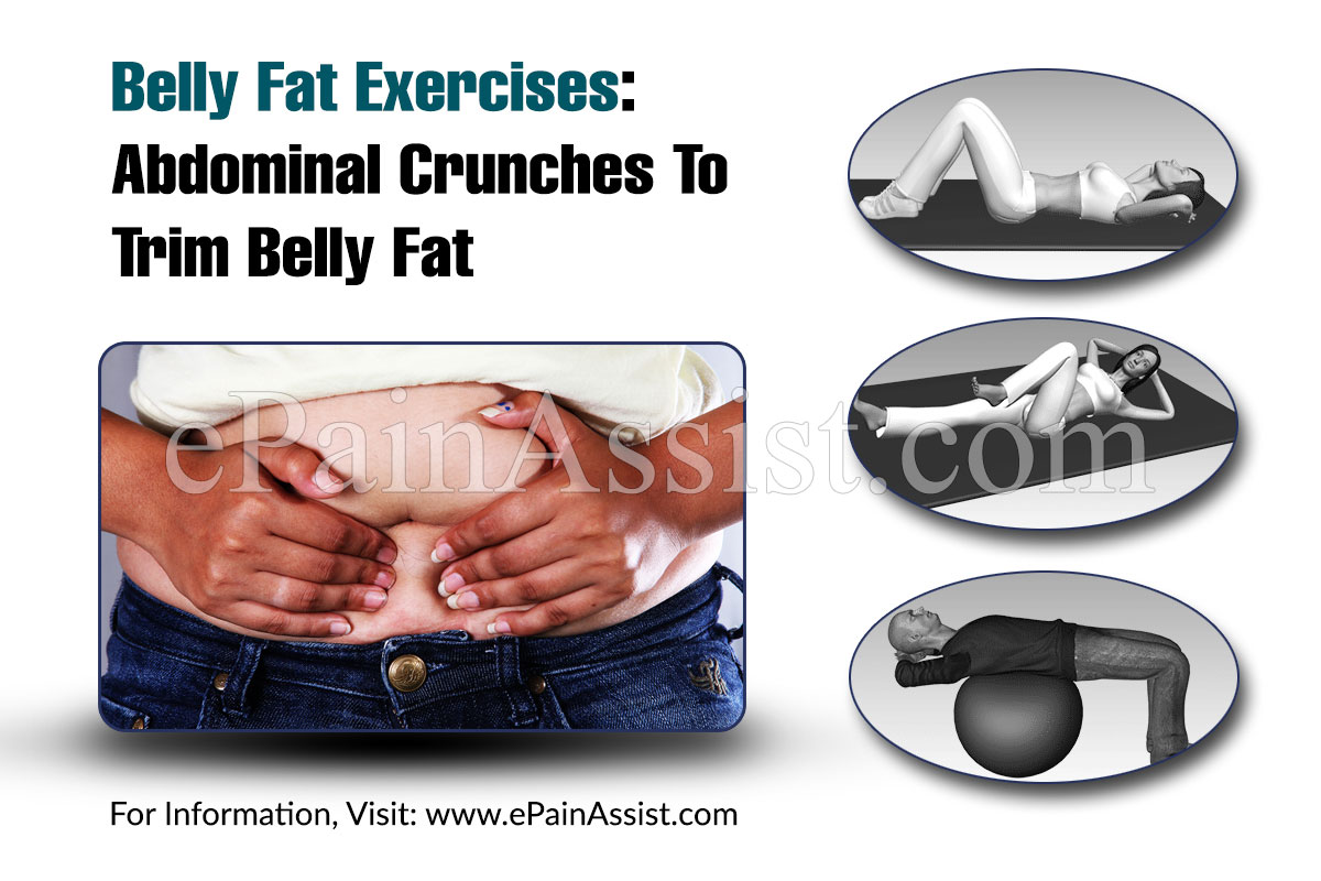 Belly Fat Exercises: Abdominal Crunches To Trim Belly Fat
