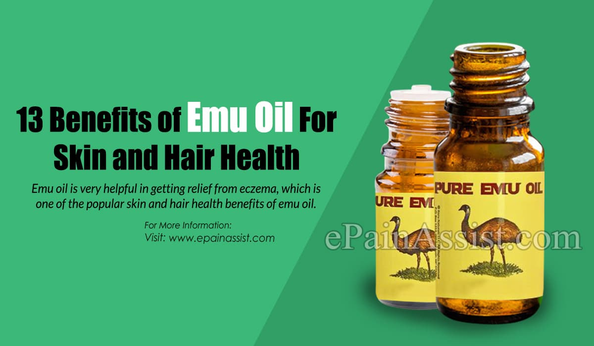 13 Benefits of Emu Oil For Skin and Hair Health