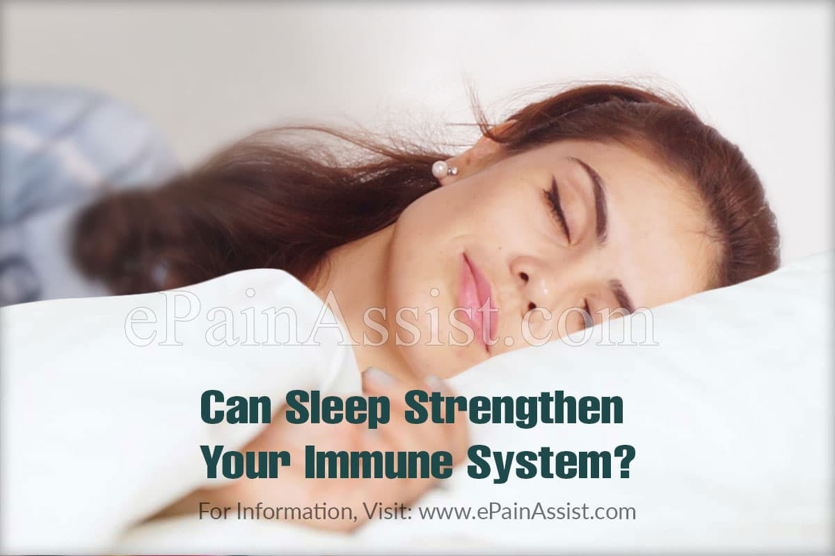 Can Sleep Strengthen Your Immune System?