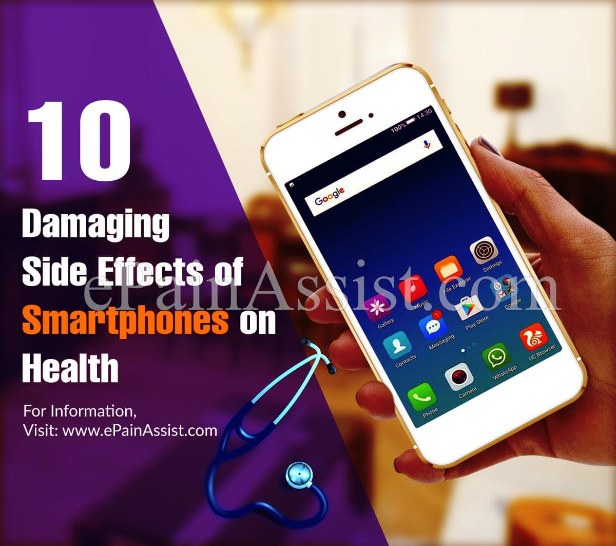 10 Damaging Side Effects of Smartphones on Health
