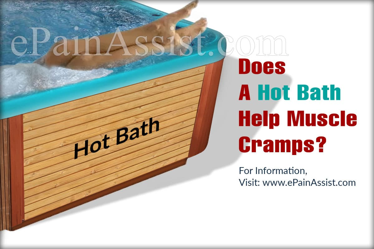 Does A Hot Bath Help Muscle Cramps?