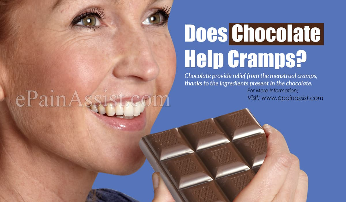 Does Chocolate Help Cramps?