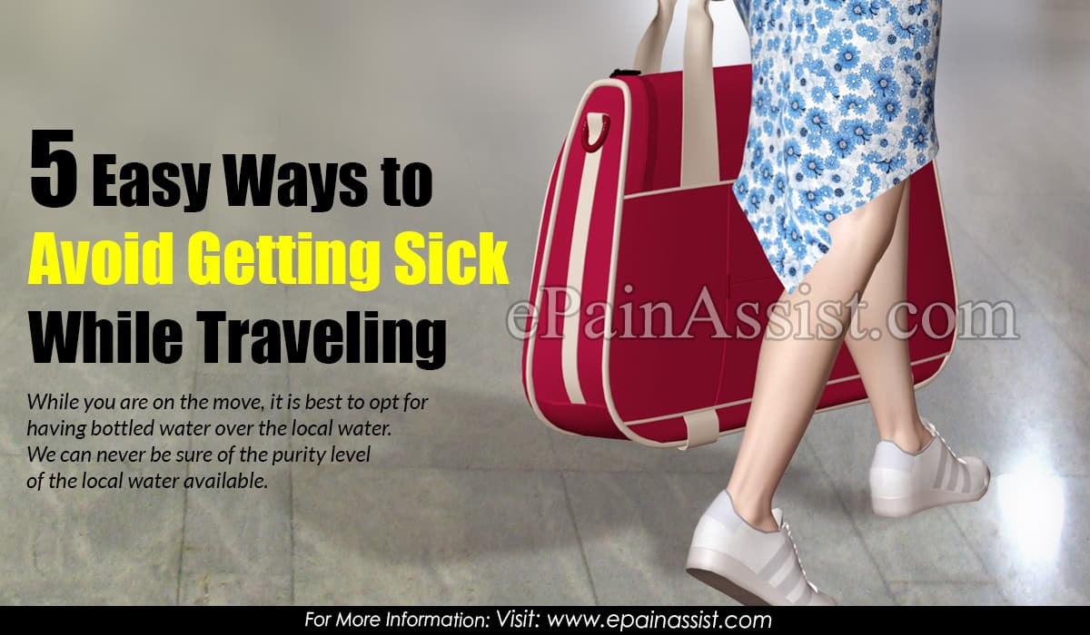 5 Easy Ways to Avoid Getting Sick While Traveling