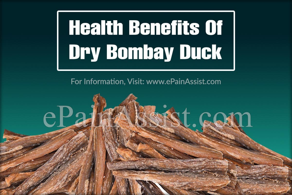 Health Benefits Of Dry Bombay Duck