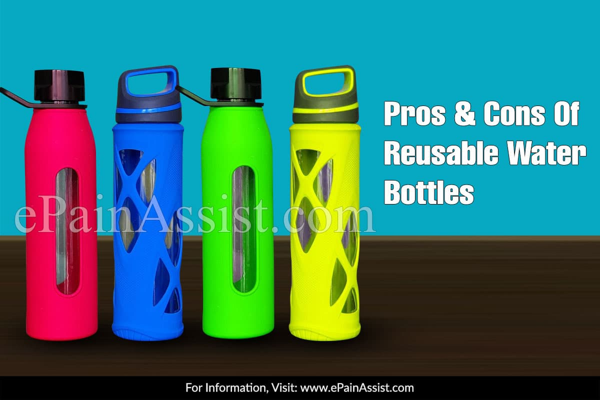 Pros & Cons Of Reusable Water Bottles