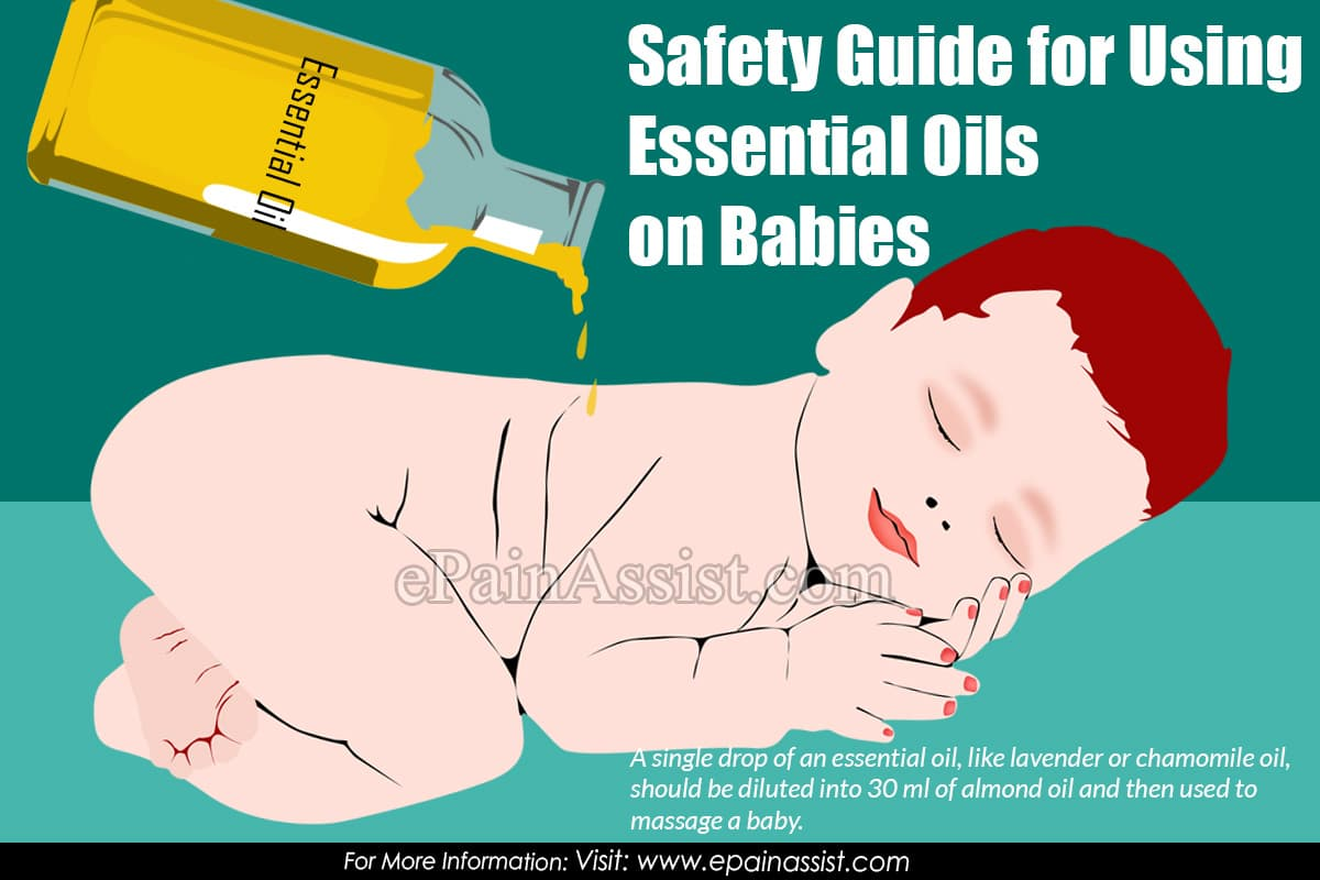 Safety Guide for Using Essential Oils on Babies
