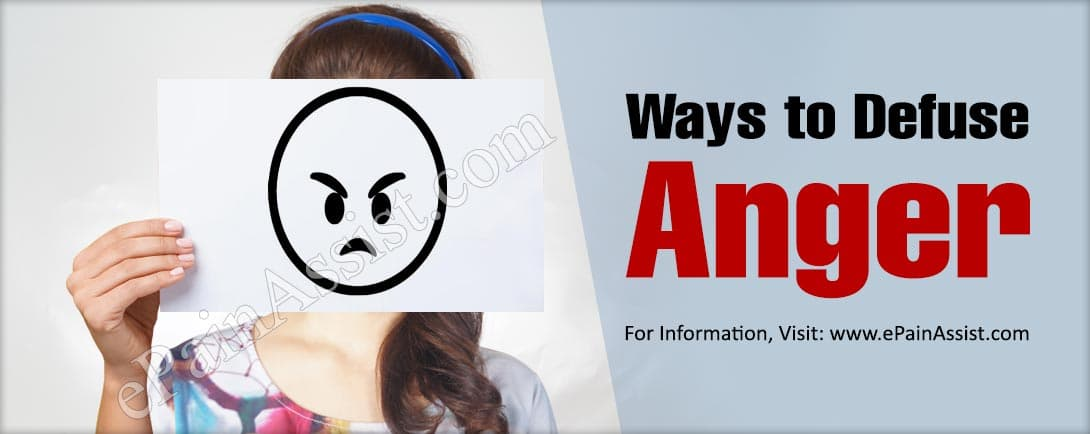 Ways to Defuse Anger