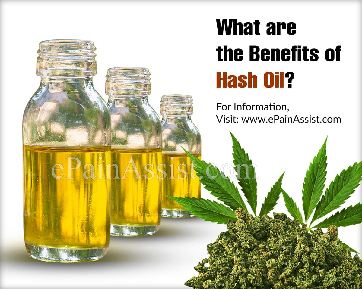 What are the Benefits of Hash Oil?