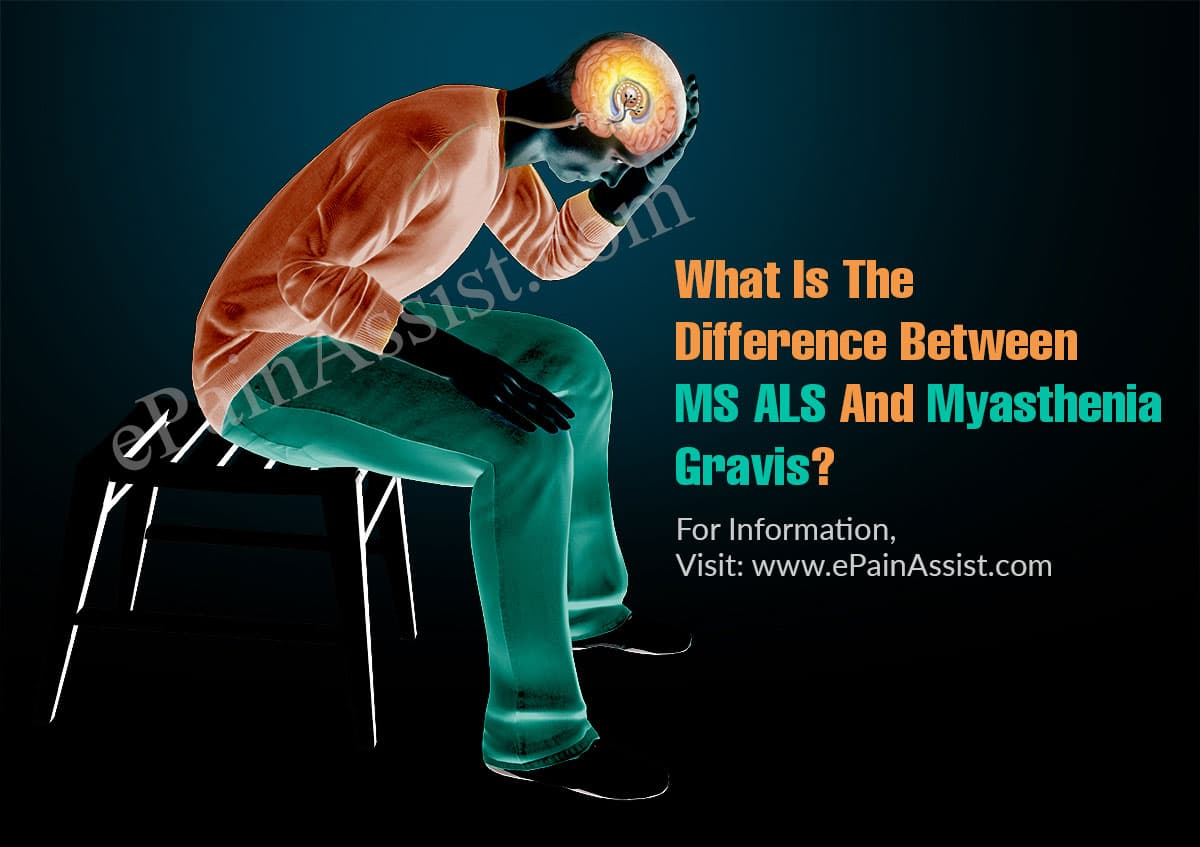 What Is The Difference Between MS ALS And Myasthenia Gravis?