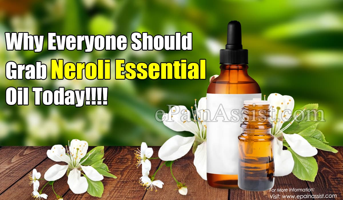 Why Everyone Should Grab Neroli Essential Oil Today!!!