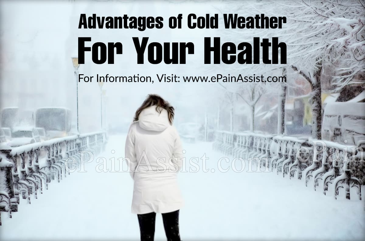 Advantages of Cold Weather For Your Health