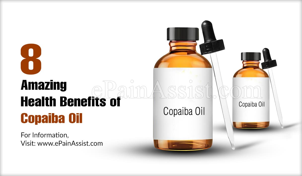 8 Amazing Health Benefits of Copaiba Oil