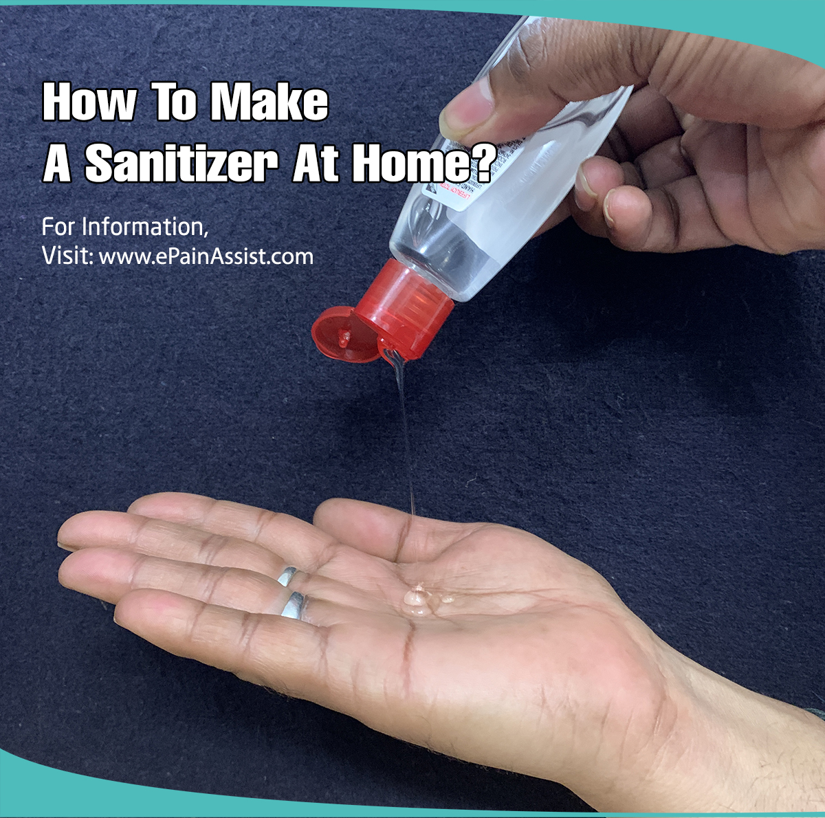 How To Make A Sanitizer At Home?