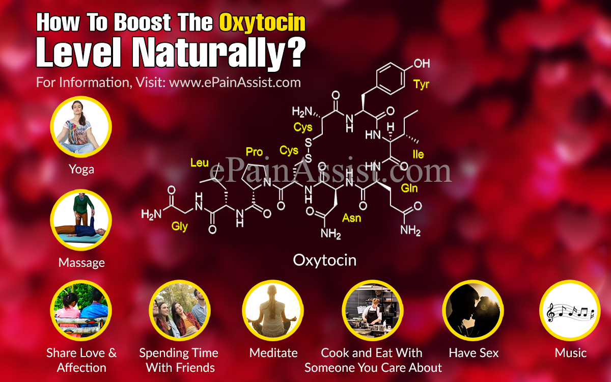 How To Boost The Oxytocin Level Naturally?