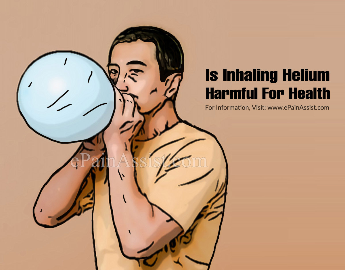Is Inhaling Helium Harmful For Health