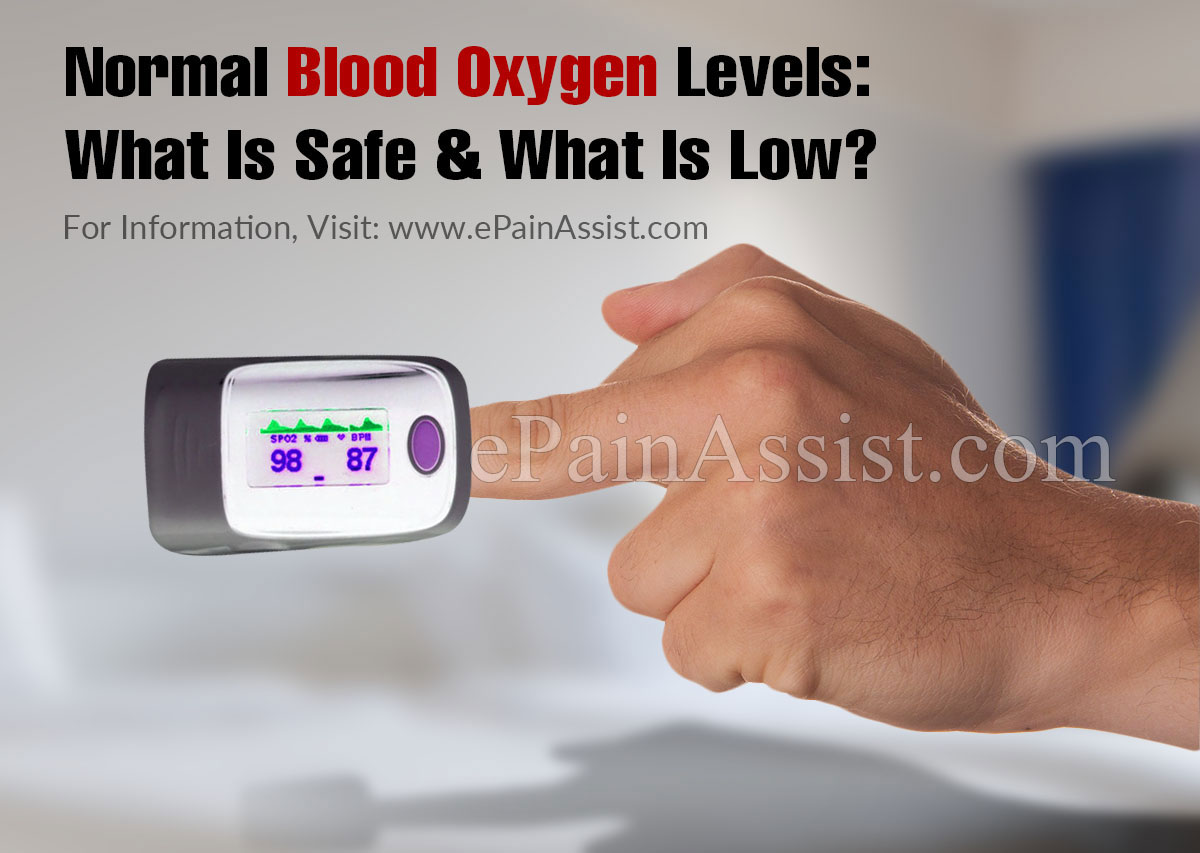 Normal Blood Oxygen Levels: What Is Safe & What Is Low?