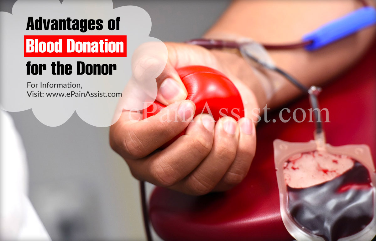 Want To Donate Blood? Know Advantages and Disadvantages For The Donors