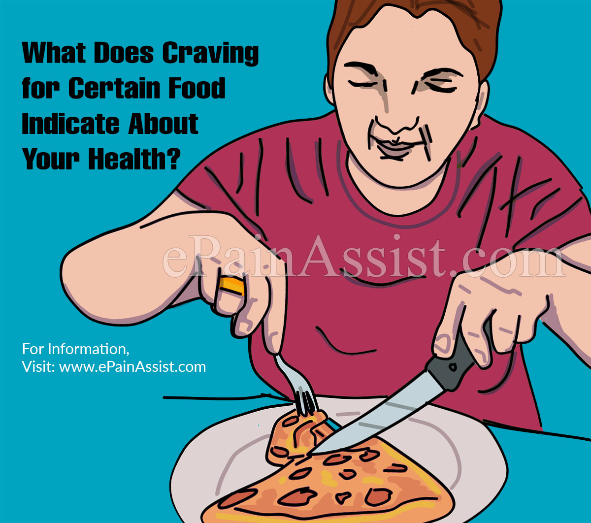 What Does Craving for Certain Food Indicate About Your Health?