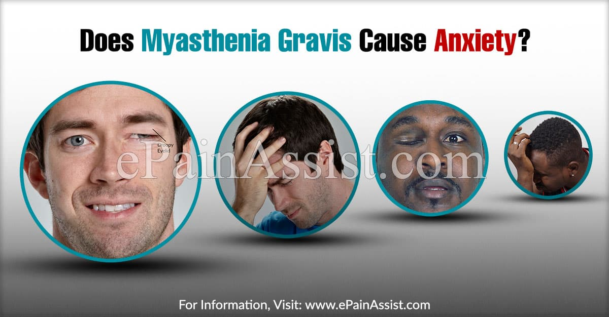 Does Myasthenia Gravis Cause Anxiety?