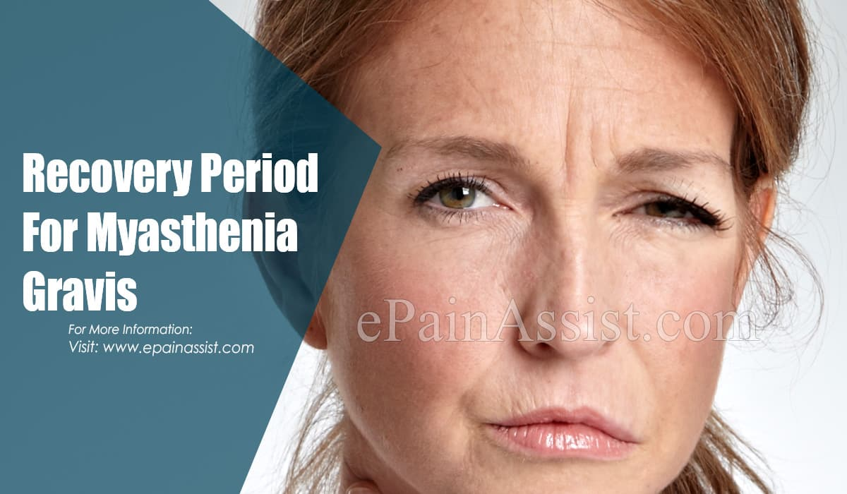 Recovery Period For Myasthenia Gravis
