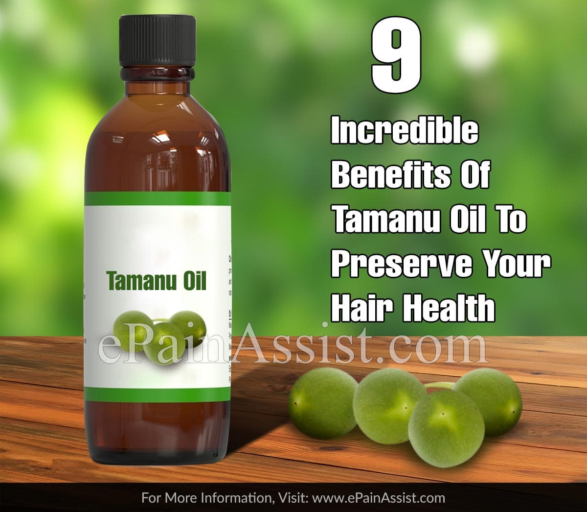 9 Incredible Benefits Of Tamanu Oil To Preserve Your Hair Health