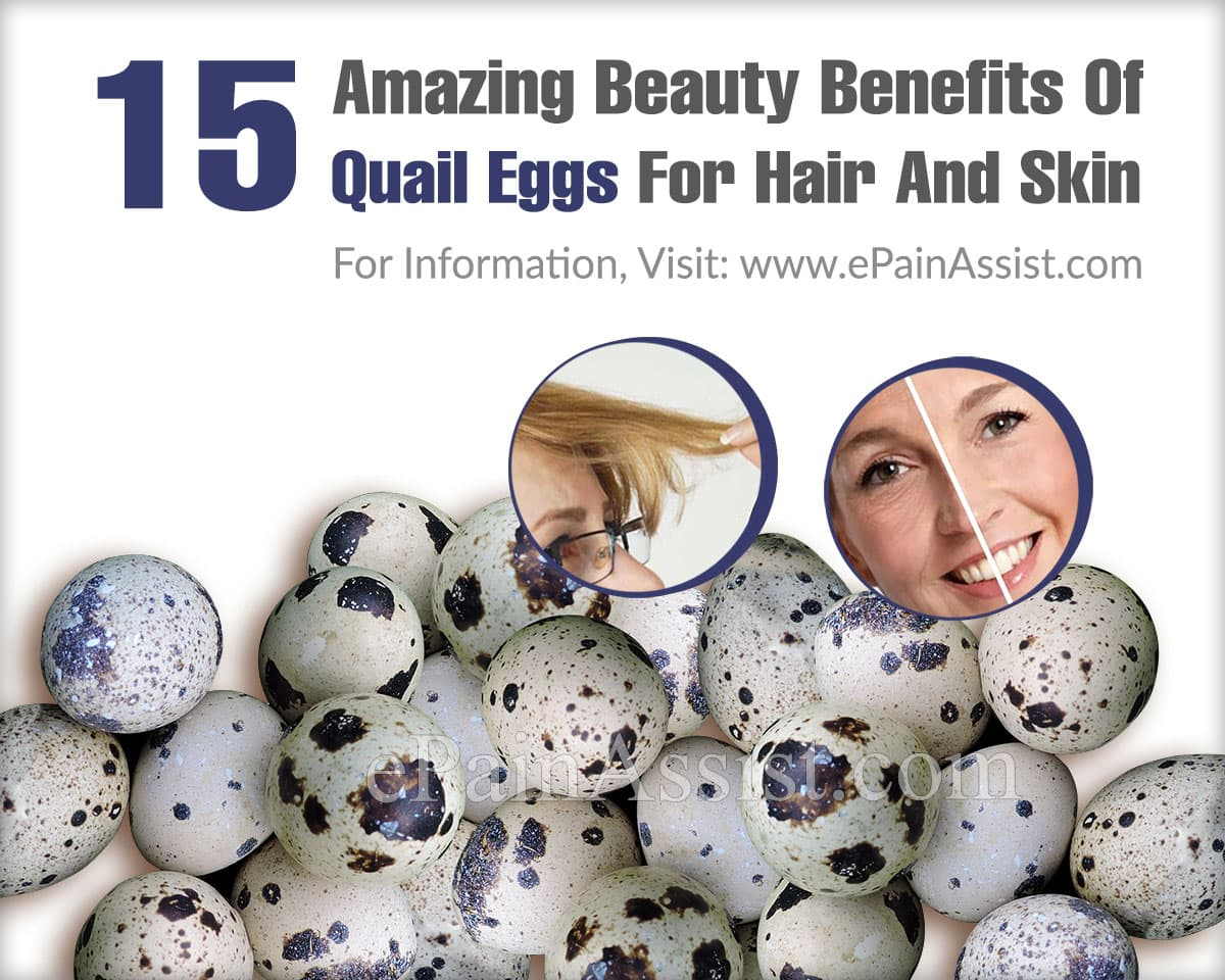 15 Amazing Beauty Benefits Of Quail Eggs For Hair And Skin