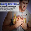 What Can Cause Burning Chest Pain and How is it Treated?