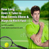 How Long Does it Take to Heal Tennis Elbow & Ways to Fix it Fast?