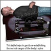 Intersegmental Traction or Roller Table: Benefits- Relaxing, Reducing Muscle Spasms