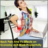 Back Pain And It's Effect on Economy and Work Productivity