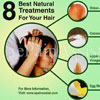 8 Best Natural Treatments For Your Hair