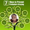 Causes of Premature Greying of Hair & 7 Ways to Prevent It