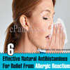 6 Effective Natural Antihistamines For Relief From Allergic Reactions