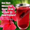 How Much Hibiscus Tea Should I Drink To Lower My Blood Pressure?