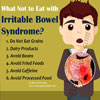 What Not to Eat with Irritable Bowel Syndrome?