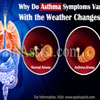 Why Do Asthma Symptoms Vary With the Weather Changes?